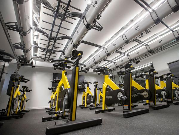 The University of Stirling has invested £20m in creating state of the art facilities / photo: TECHNOGYM