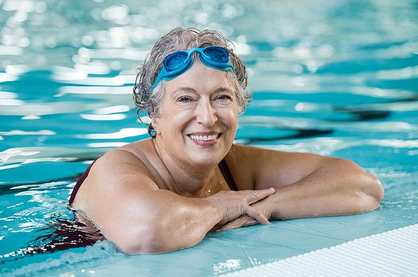 Swimming as a person's main activity rose by 8 per cent from lockdown 1 to 2 / Shutterstock