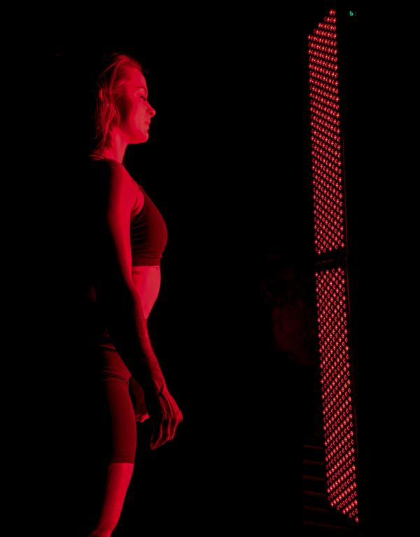 Red light therapy has been found to increase cellular energy production and decrease inflammation