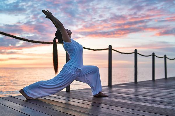 Emotional Wellbeing by Raffles is a blueprint to truly elevate wellness / photo: raffles Maldives ©Jorg Sundermann