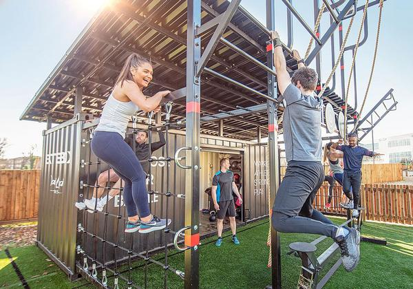 Battlebox – a multi-functional workout – is one of DLL's signature offerings / photo: DLL