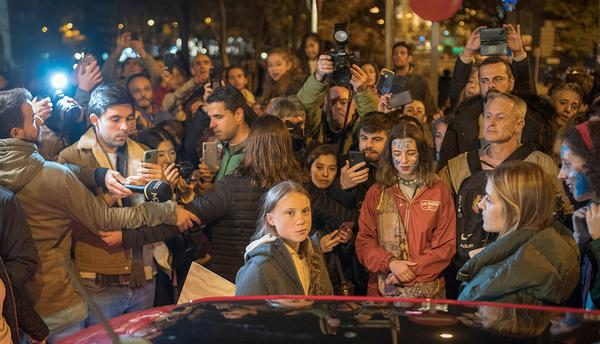 Greta Thunberg has ignited young people's passion for the environment / photo: Aydan Metev