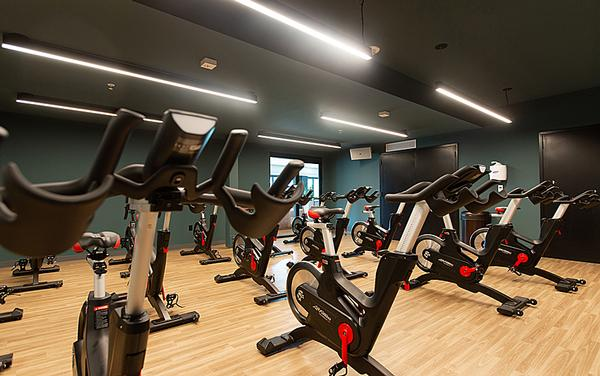The premium fitness facility spans 25,000 square feet
