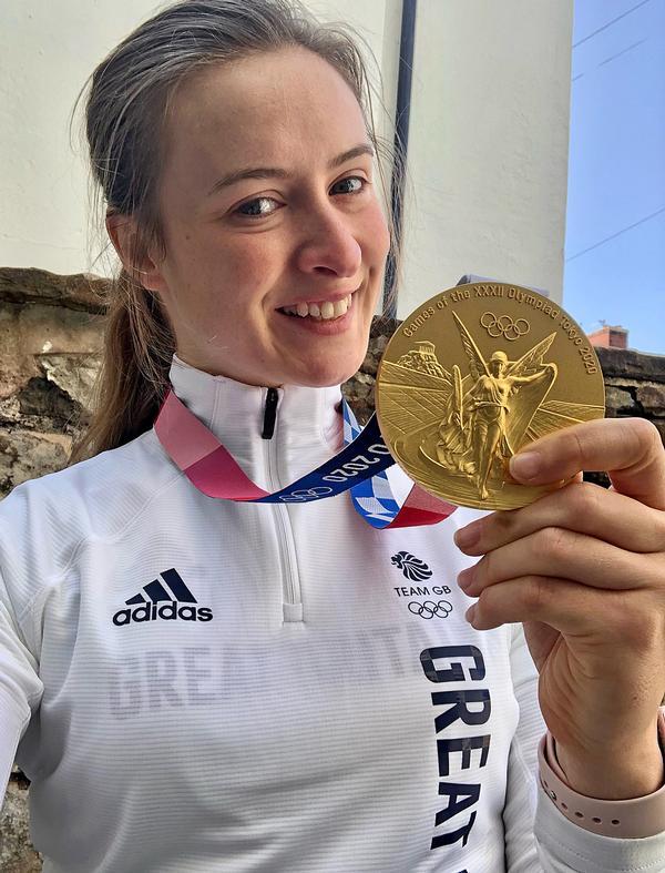 BMXer, Charlotte Worthington, won gold in Tokyo / photo: GLL Sports Foundation
