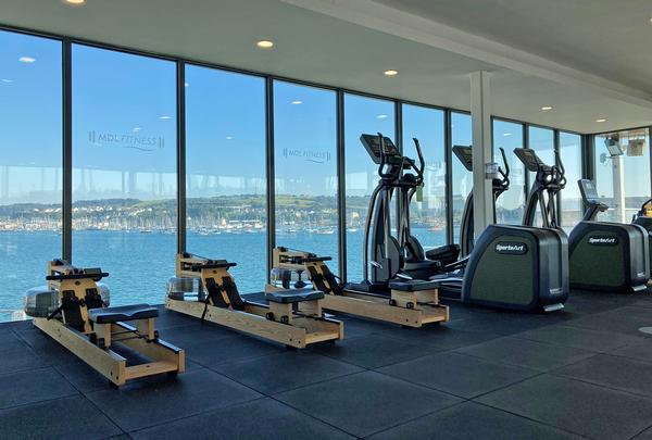 Views of the sea are a benefit of the marina location / photo: MDL Fitness