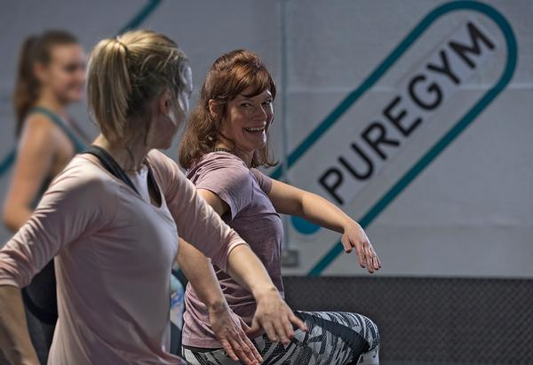 Members are visiting the gym more since lockdowns ended / photo: pure gym