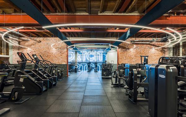 The gym has keen kitted out by Technogym and includes the Biocircuit / Photo: Sportcity
