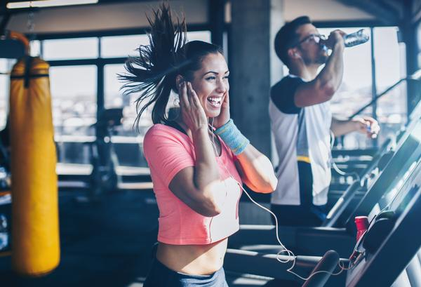 89 per cent say they exercise more intensely in a leisure centre than an informal setting / photo: shuttestock/DuxX