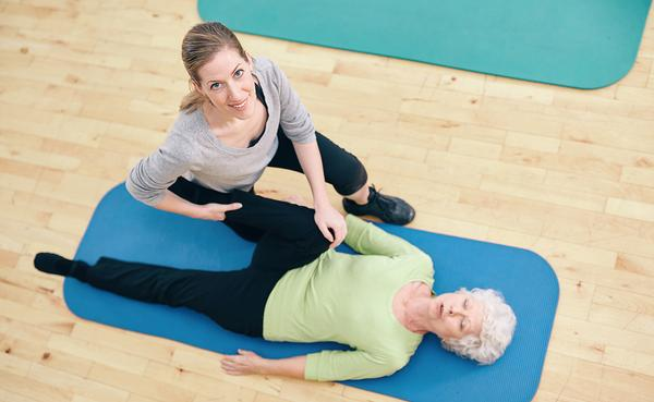 The fitness industry can play a key role in promoting wellbeing in older people / Photo: Jacob Lund/shutterstock