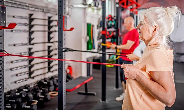 The findings could have significant implications for the way fitness instructors and personal trainers work with female clients over the age of 50 / Photo: Leszek Glasner/shutterstock