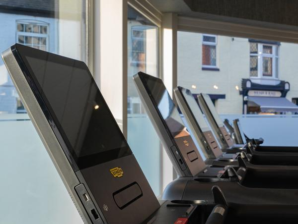 The new studio is fully kitted out with Technogym equipment, including the Excite Live range and Mywellness / photo: Technogym