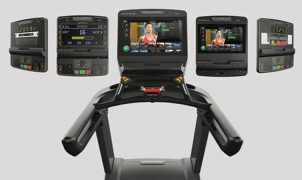 The combination of consoles and cardio lines gives a huge range of options / photo: Matrix