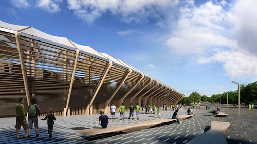 / Zaha Hadid Architects/Forest Green Rovers FC