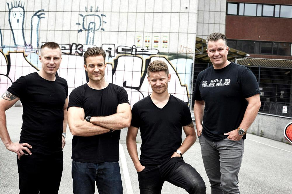 The team behind REPEAT (left to right): Peter Rehhoff, Rasmus Ingerslev, Peter Modin and Hans-Henrik Sørensen / REPEAT