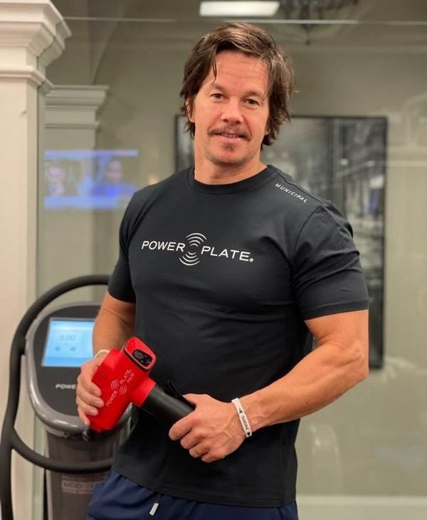 Mark Wahlberg has invested in Power Plate / Power Plate/Mark Wahlburg