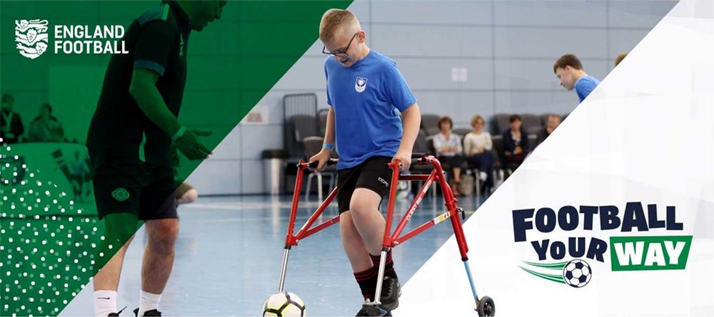 The campaign will encourage preparation for a return to the court or pitch for players / Football England