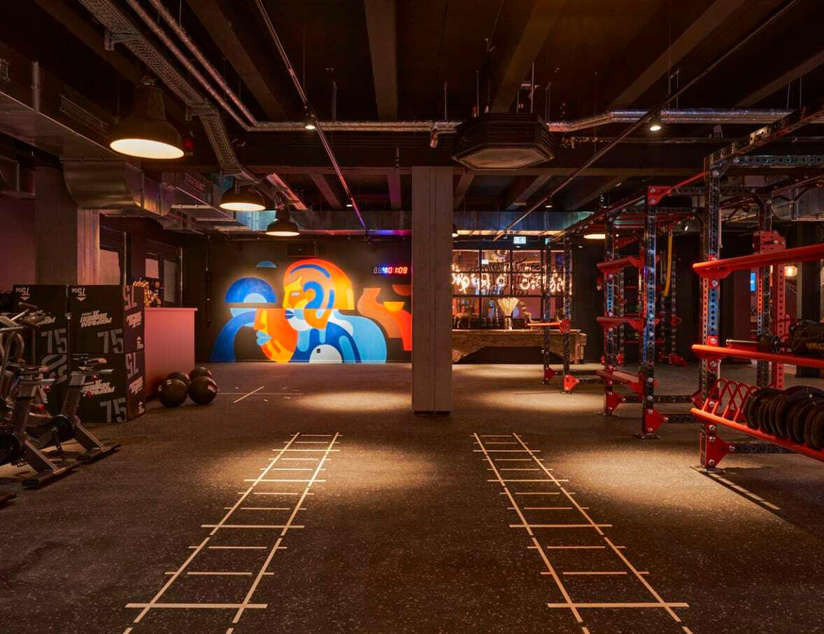 The club will have an extensive programme of more than 50 daily classes / John Reed/RSG Group