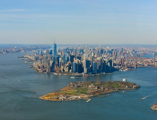 Governor's Island is located a short ferry ride away from Brooklyn and Manhattan / Shutterstock/Laura San Fillipo