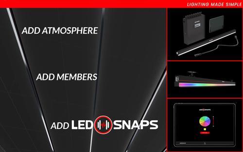 LEDSnaps announces lighting grant for gyms
