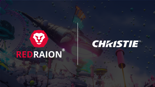Red Raion collaborates with Christie to provide movie content for their partner event