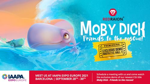 Red Raion presents Moby Dick – Friends to the rescue! at IAAPA Expo Barcelona