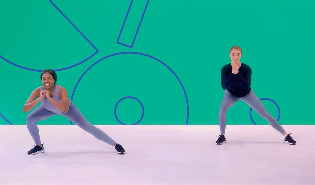 The free platform will feature yoga, boxing, Pilates and dance / Sport England