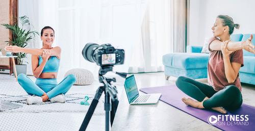 Featured supplier news: FitnessOnDemand launches new live-streaming feature for all fitness clubs and their members