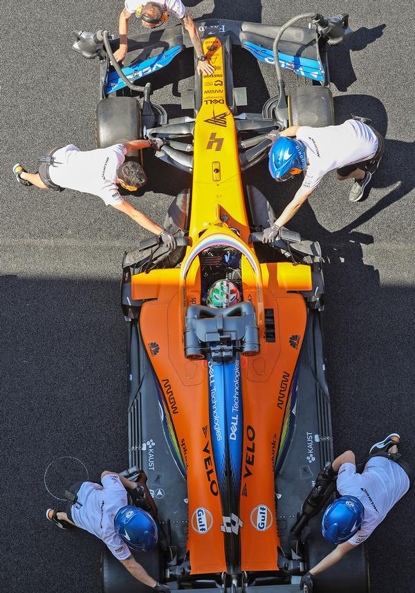 Each person in the McLaren team will get different insights for better lifestyle choices