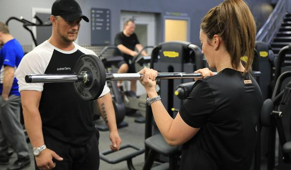 New Technogym equipment was installed as part of the rebrand and refurbishment