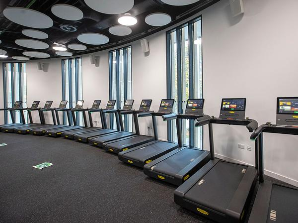 The gym and fitness suite have been exclusively fitted out by Technogym / photo: TECHNOGYM