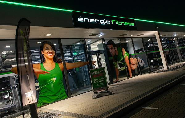Gympass customers can train at any of énergie Fitness' 97 clubs / photo: energie fitness