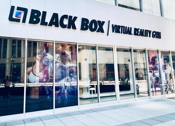 Black Box VR currently has two dedicated locations, plus booths in four EōS Fitness clubs / photo: black box vr