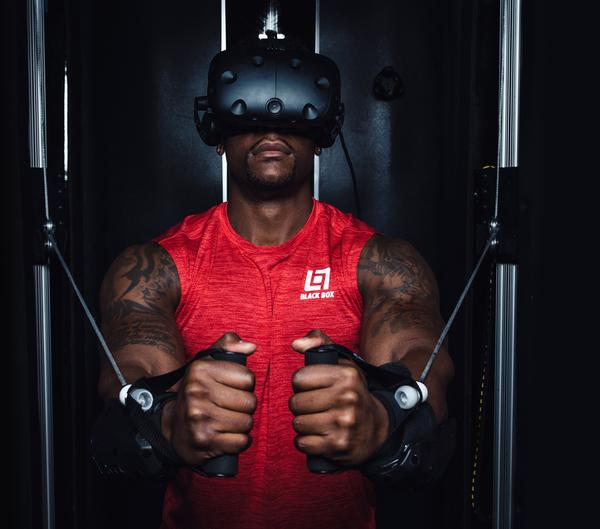 Black Box VR has invested millions of dollars in developing the futuristic system / photo: black box vr