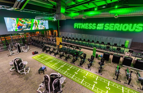 The floor area of JD Gyms has increased from an average of 24,000sq ft to 29,000sq ft since the Xercise4Less deal / photo: JD Gyms