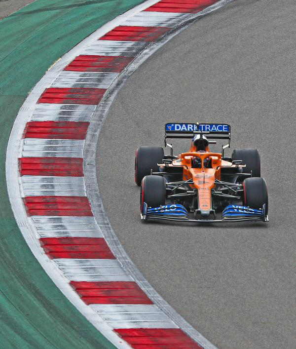 In addition to use of the app, the McLaren race team will take part in in-person tests