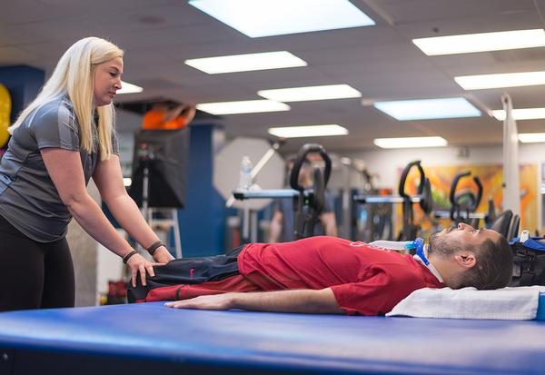 One aim is to enable people to regain function below the level of their injury / photo: The Perfect Step