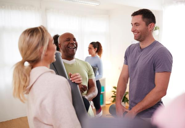 The vast majority of people say staff give them guidance to be more active / photo: shutterstock/Monkey Business Images