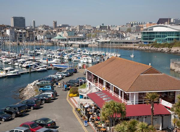 The first MDL gym is sited at the marina in Plymouth / photo: MDL Fitness