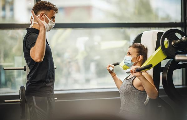 Gym staff must enforce COVID-secure operating procedures at all times / SHUTTERSTOCK/MilanMarkovic78