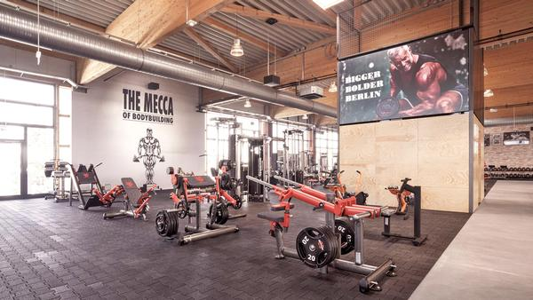 Gold's Gym Berlin is CO2 and climate neutral and Platinum LEED certified / photo: RSG Group