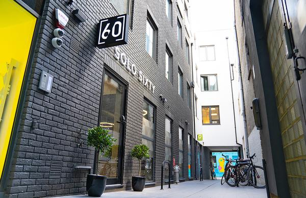 The first Solo 60 location in Shoreditch will be followed this month by a second location near Tower Bridge / photo: Solo 60