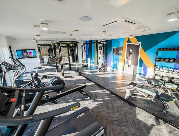 Each True Student development includes a fully kitted out gym as part of the accommodation offering / photo: bricks group