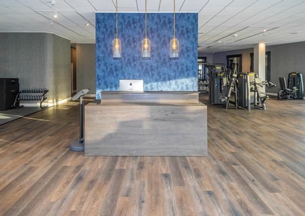Hamilton has aimed to create a home feel, with facilities to suit people at every stage of their fitness journey / photo: Technogym