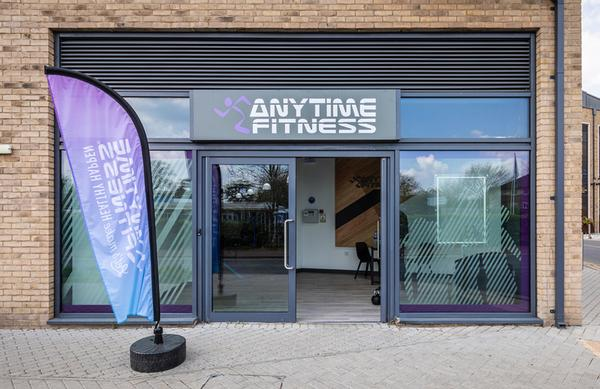 Precor provided design mock-ups for the new gym / Anytime Fitness Addlestone