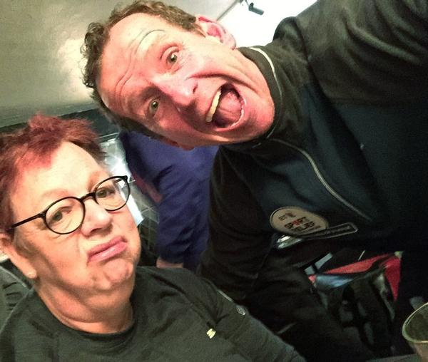 Jo Brand's walk across the UK inspired many people who related to her journey