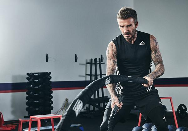 Beckham says he's fitter than he's been since retiring from professional football, through training at F45 / photo: F45