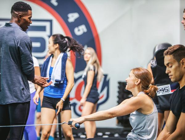 F45 has ambitions to open 23,000 studios across the globe / F45