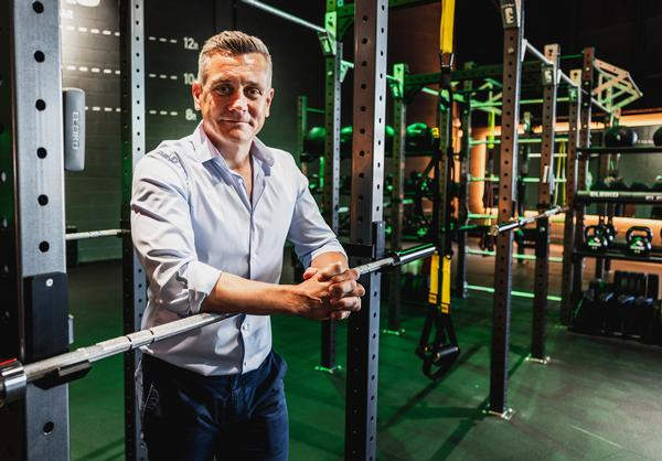 Alun Peacock has been MD of JD Gyms since 2013, developing the gym chain for retailer, JD Sports, which has 2,600 retail outlets in 20 territories and is a FTSE100 company / photo: JD Gyms