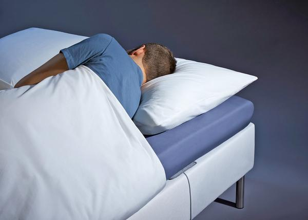 A non-wearable device, the Sleep Analyzer is placed under a mattress and provides insights via an app / PHOTO: Withings