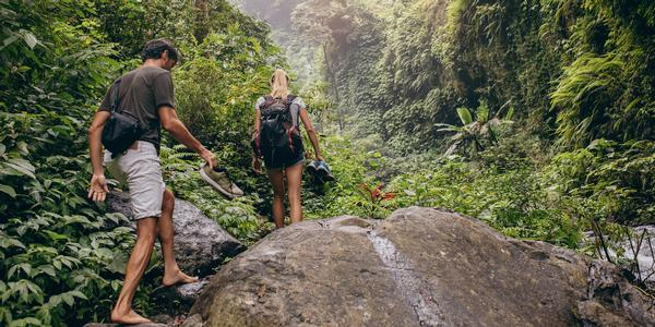 The trend of young people heading outdoors is them signalling their attitudes, says Minton / photo: shutterstock/jacob lund